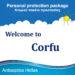 Ατομικό πακέτο προστασίας για  Ξενοδοχεία, Ενοικιαζόμενα Δωμάτια και  Επιχειρήσεις στην Κέρκυρα